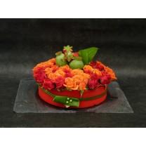 Gâteau de fleurs